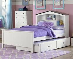 Daybed With Bookcase Zayley Twin Bookcase Bed Headboards And Footboards Cherry King