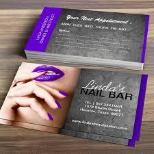 It Technician Business Card Nail Artist Business Card Or Nail Salon Business Card Calling