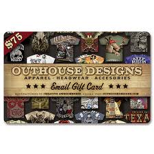instant e gift card 75 instant email gift card gift75 outhouse designs screen