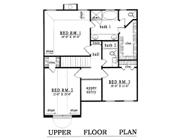 plan42 traditional style house plan 3 beds 2 50 baths 1871 sq ft plan