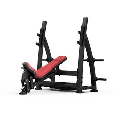Olympic Bench Press Dimensions Olympic Incline Bench Press With Racks 687 00 Fitness U0026 Gym