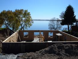 walkout basement lake home plans basement decoration