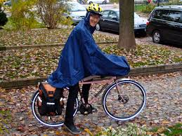 bike rain gear some thoughts on the cleverhood bicycle rain cape biking in a