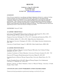 resume exles for therapist occupational therapist resume objective exles best of ot cover