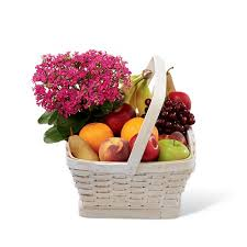 send fruit kalanchoe fruit basket at send flowers