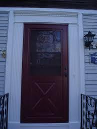 larson storm door replacement glass provia larson storm door azek pvc replaces wood exterior house