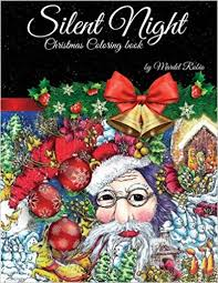 amazon com silent night coloring book 9780997480788