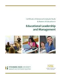 cags and m ed educational leadership and management national