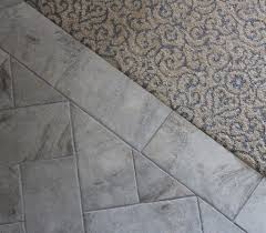 Transition Tile To Laminate Floor Attractive Tile To Carpet Transition