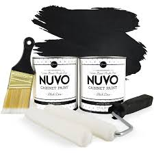 Nuvo Cabinet Paint Reviews by Amazon Com Nuvo Black Deco 1 Day Cabinet Makeover Kit Home