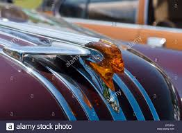 ornament size car pontiac chief stock photo