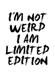 limited edition print wall typography poster black and white i