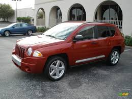 red jeep compass 2007 inferno red crystal pearlcoat jeep compass limited 3575630