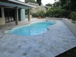 6x12 silver tumbled travertine paver stone mart