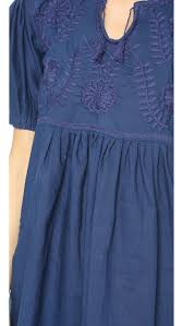 blue margarita carolina k margarita short dress in blue lyst