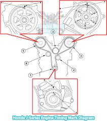 2006 honda pilot timing belt replacement 2003 2016 honda pilot timing diagram 3 5 l j35 engine