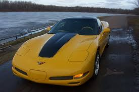 yellow corvette c5 c5 corvette stripes vettestripes com