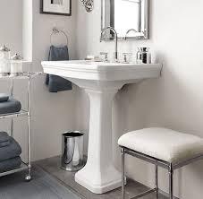 bathroom pedestal sink ideas park pedestal sink restoration hardware traditional bathroom