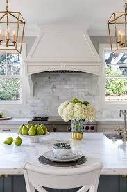 kitchen cabinets backsplash white kitchen cabinets and grey island design ideas