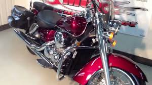 2004 honda shadow 750 aero youtube
