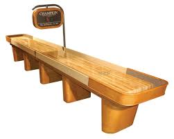 How To Play Table Shuffleboard 14 Foot Champion Capri Shuffleboard Table Made In The Usa