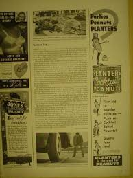 Planters Cocktail Peanuts by Vintage Candy Advertisements Of The 1940s Page 2