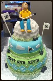 67 best golf cakes images on pinterest golf cakes bag cake and