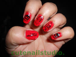 halloween acrylic nails designs image collections nail art designs