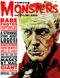 famous halloween monsters famous monsters of filmland 5 issue