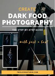 black background halloween toll tray how to guide create dark food photography with just a box