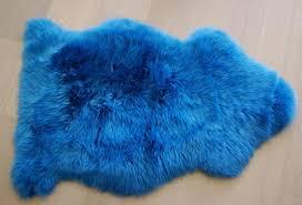 blue sheepskin rug deep sea genuine sheepskin australian rug