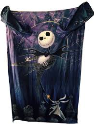 Nightmare Before Christmas Bedroom Stuff Amazon Com The Nightmare Before Christmas Comfy Blanket With