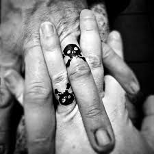 gents ring finger 75 finger tattoos for men manly design ideas