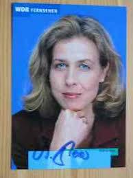 WDR Fernsehmoderatorin Andrea Moos - handsigniertes Autogramm ... - 6814996