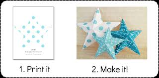 Homemade Christmas Decorations With Paper Making Christmas Decorations Easy 3d Stars Baubles And More
