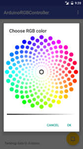 android color picker arduino led rgb led remotely using arduino and android app
