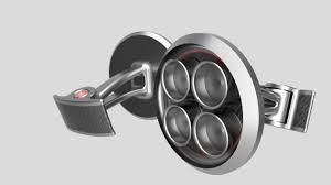 pagani exhaust pagani exhaust inspired cufflinks autodesk online gallery