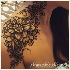 Shoulder Design - henna designs shoulder makedes com