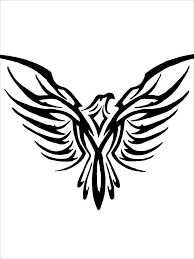 eagle design for half sleeve stage 2 of a scorpio tatted