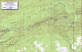 Buffalo Creek Trail Map Ouachita Trail Maps Ouachita Mountains Ok Ar Free Detailed Topos