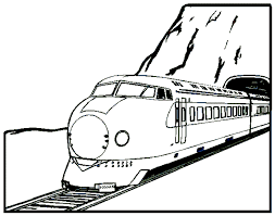 train coloring pages 4 coloring