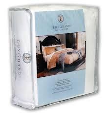 Dust Mite Crib Mattress Cover Sleepsafebedding Luxguard Allergen Bed Bug And Dust Mite Crib