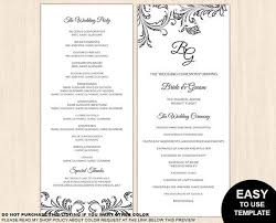 tea length wedding programs 88 best wedding ideas images on wedding program