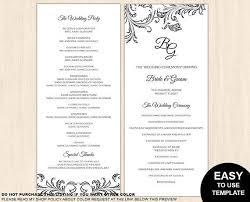 88 best wedding ideas images on pinterest wedding program