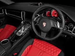 Porsche Panamera Red Interior - 2012 a kahn design porsche panamera wide track interior 2