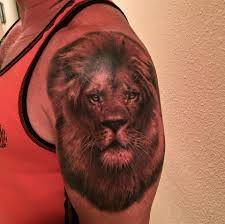 lion finger tattoos two realistic lion tattoos on half sleeve by francisco sanchez