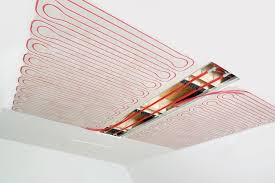 pannelli radianti soffitto sistema radiante a soffitto rehau rehau italia