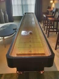 How Long Is A Shuffleboard Table by Bar Shuffleboard Table Foter