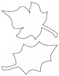 thanksgiving leaf templates happy thanksgiving