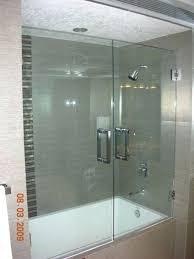 Bathroom Frameless Glass Shower Doors Frameless Shower Door For Bathtub Limette Co